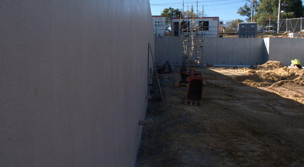Greensborough - Shotcrete Walls