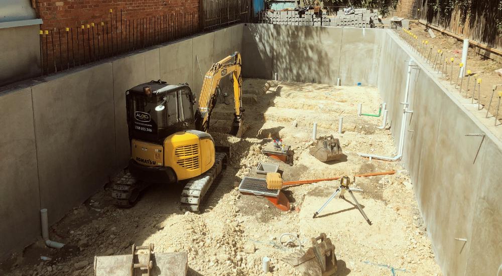 Hawthorn - Basement Detail Excavation