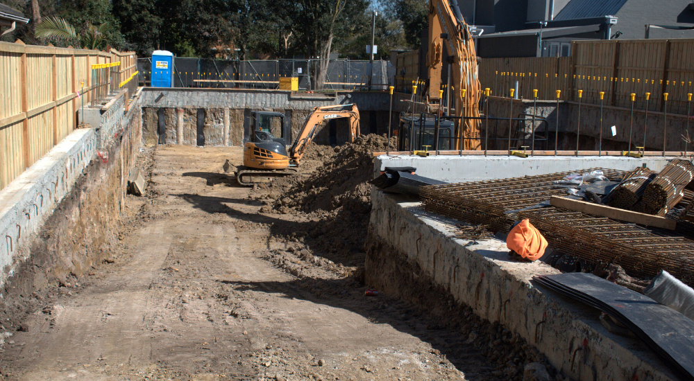 Glen Iris - Bulk Excavation