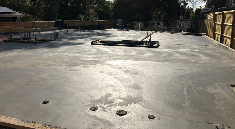Glen Iris - Suspended Slab
