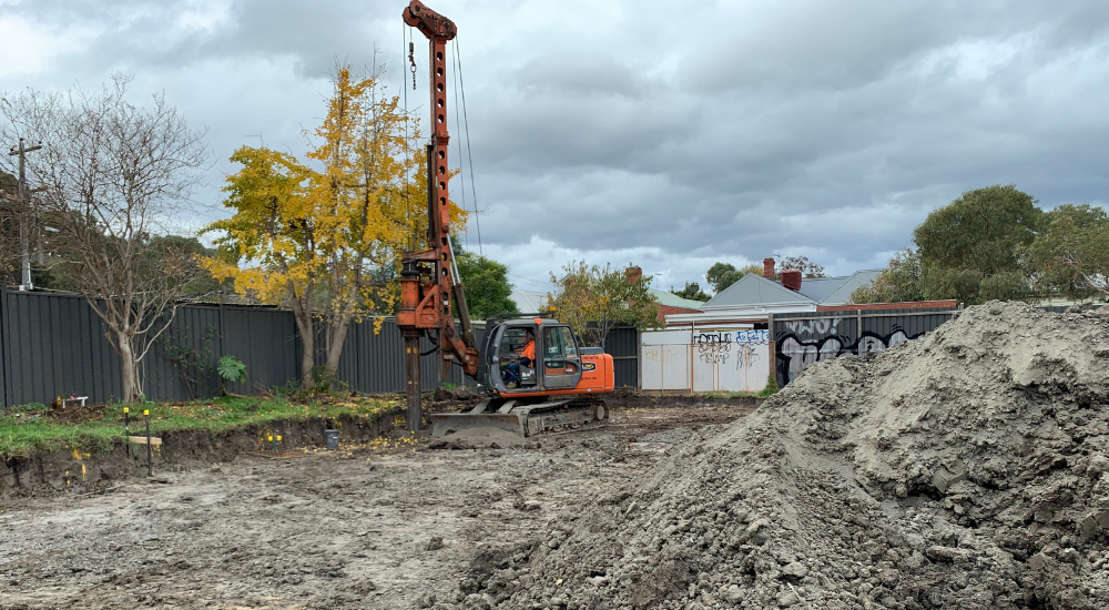 Northcote - Rock Drilling And Piling