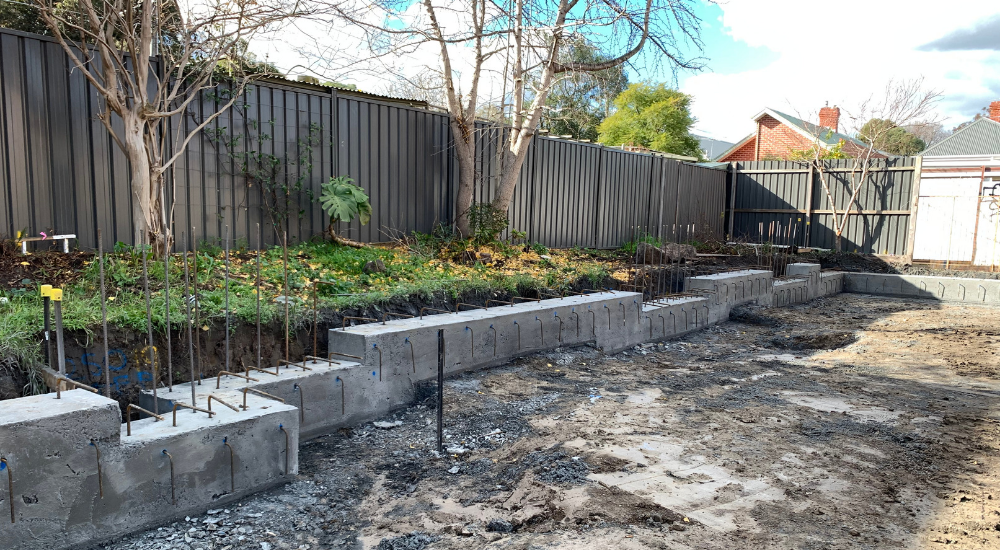 Northcote - Capping Beam Poured