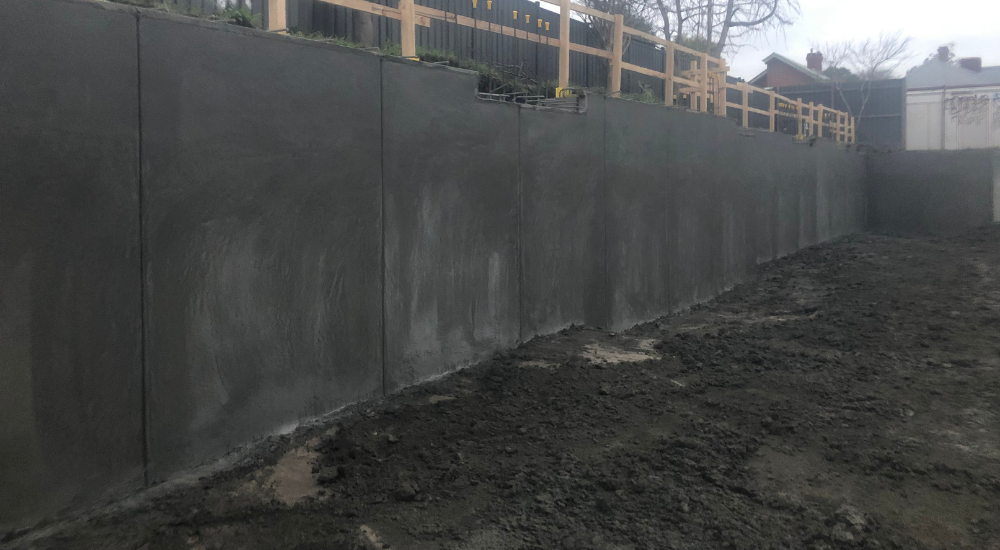 Northcote - Shotcrete Walls