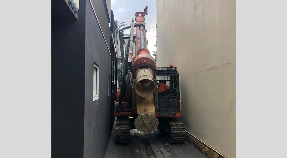 Port Melbourne - CFA Rig Tight Access