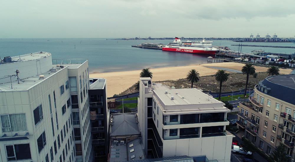 Port Melbourne - Sandy Location